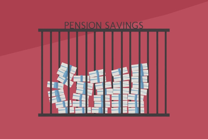 Pension Savings Locked Away